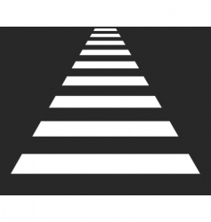 Cross walk vector