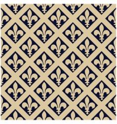 Fleur-de-lys pattern vector