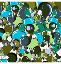 Floating bubbles beautiful background for vector