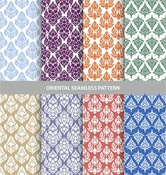 Oriental seamless pattern eps10 vector