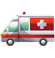 An ambulance vector