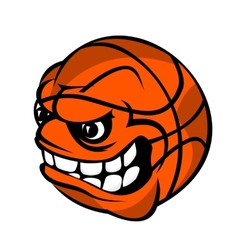 Basketball cartoon ball vector