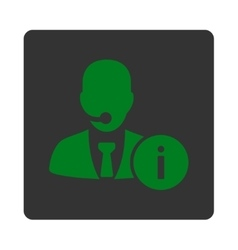Help desk icon vector