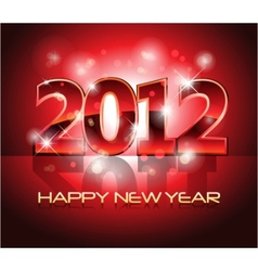 New year eve 2012 background vector