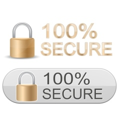 Ssl certificates signs for website vector