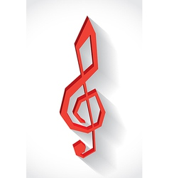 G clef vector