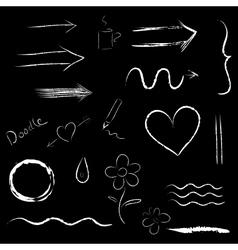Symbols set vector