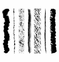 Grunge ink splashes vector