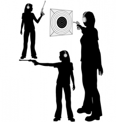 Shooting target vector
