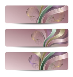 Abstract headers vector