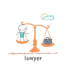 Lawyer vector