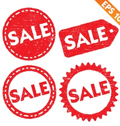 Stamp stitcker sale tag collection - - eps1 vector