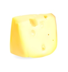Realistic cheese vector