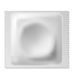 Condom package vector