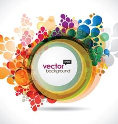 Multicolor frame vector