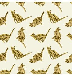 Wild cats vector