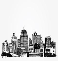 Big city vector