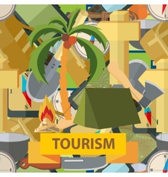 Seamless  tourism vector