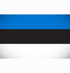 National flag of estonia vector
