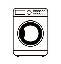 Washing machine icon vector