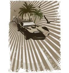 Exotic car vector