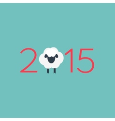 Year of the sheep vector