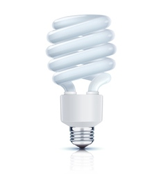 Fluorescent lightbulb vector