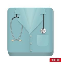 Premium icon medical uniforms vector