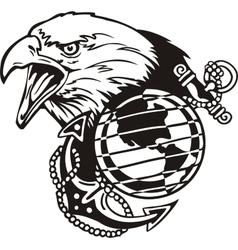 Military design - vinyl-ready vector