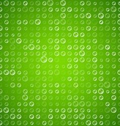 Water bubbles vector