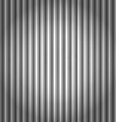 Seamless corrugated silver metal background vector
