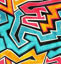 Grunge graffiti seamless texture vector