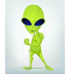 Cartoon character alien 033 cs5 vector