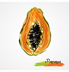 Papaya vector