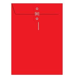 Red sealed envelope vector