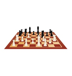 Chess game vector