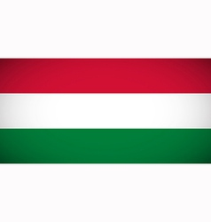 National flag of hungary vector