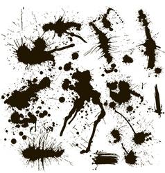 Ink spot vector