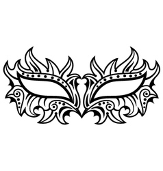 Owl mask vector