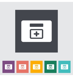 First aid kits vector