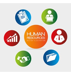 Human resources vector