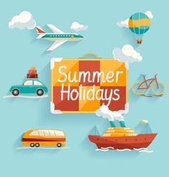 Summer holiday vector