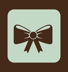 Bow-tie design vector