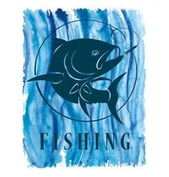 Tuna fish vector