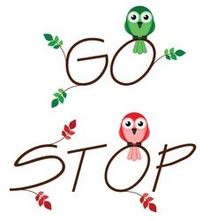 Go stop vector