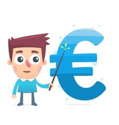 Monitoring money savings vector
