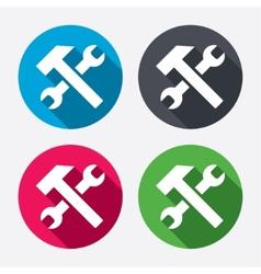 Repair tool sign icon service symbol vector