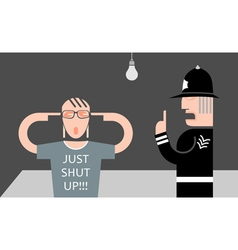 English policeman vector