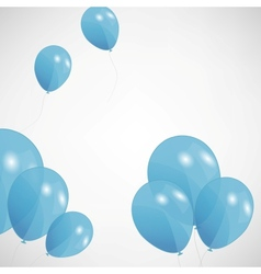 Set of colored balloons  eps 10 vector