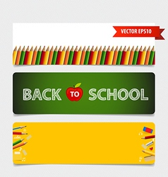 Cute note papers welcome back to school vector